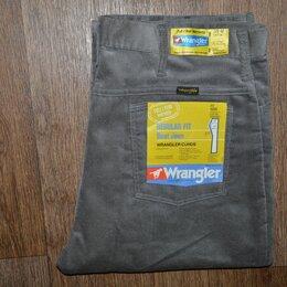 Джинсы - Джинсы Wrangler W38 L32, вельвет, Made in USA, 0