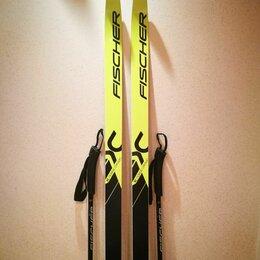Беговые лыжи - Комплект беговых лыж Fischer 205/155 + ботинки 43, 0