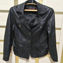 Куртки - Кожаная куртка, 0