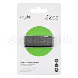 USB Flash drive - Накопитель USB Flash 32GB 2.0 VIXION Shark Eyes (черный), 0