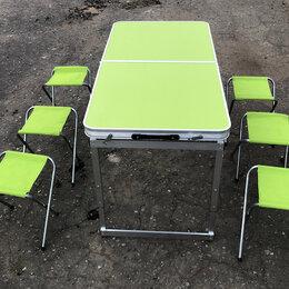 Походная мебель - Складной туристический стол для пикника 4 стула, 0