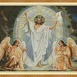 Настольные игры - Набор для вышивания 188 Иисус и ангелы 71*56, 0