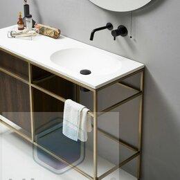 Раковины, пьедесталы - Столешница с раковиной для ванной комнаты, 0