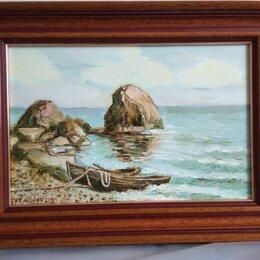 """Картины, постеры, гобелены, панно - """"Весельные лодки"""" Левитан И. И. , 0"""