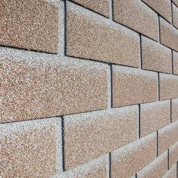 Фасадные панели - Фасадная плитка технониколь hauberk песчаный кирпич, 0