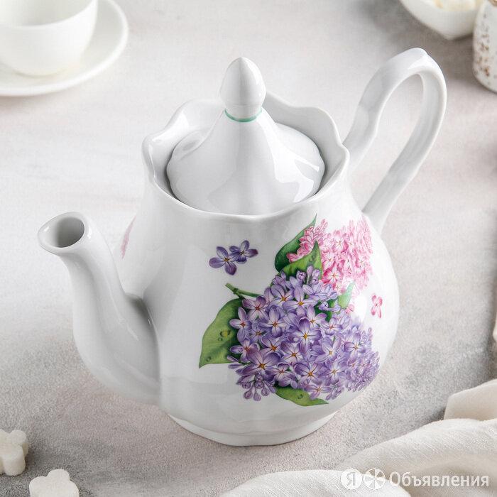 Чайник 'Сирень', 1,75 л по цене 968₽ - Электрочайники и термопоты, фото 0