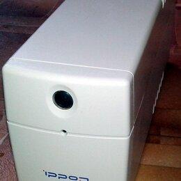 Источники бесперебойного питания, сетевые фильтры - Бесперебойник 600VA Ippon Back Power Pro 600, 0