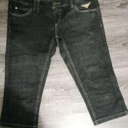 Капри и бриджи - Капри-шорты джинсовые размер 46, 0