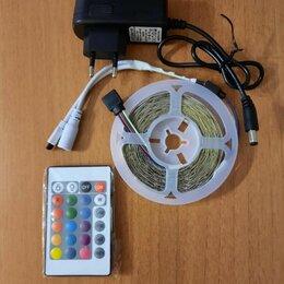Светодиодные ленты - Светодиодная лента rgb с пультом 5 метров, 0