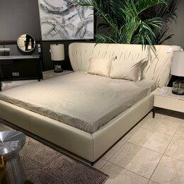 Кровати - Milo Двуспальная кровать (180*200) кожа, 0