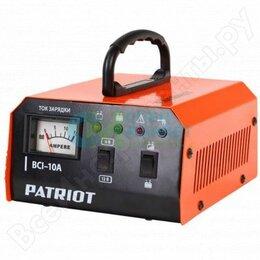 Батарейки - Зарядное устройство 400Вт, ёмкость батареи 10-150 А/ч PATRIOT 6/12В, 0