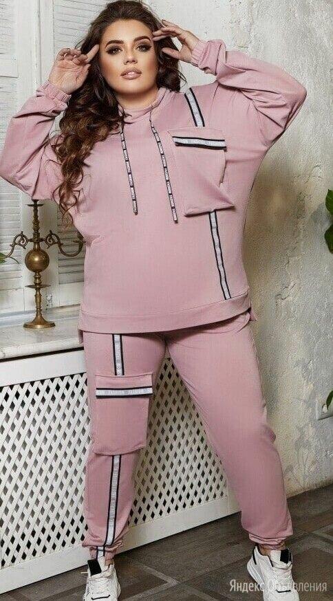 Женский трикотажный спортивный костюм р-ры 56-62 по цене 1790₽ - Спортивные костюмы, фото 0