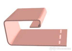 J-профиль FineBer Фламинго 3.80м.(уп. 40 шт.) по цене 285₽ - Сайдинг, фото 0