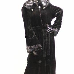 Шубы - шуба норковая с капюшоном 48-50, 0
