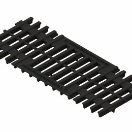 Заборчики, сетки и бордюрные ленты - Standartpark Решетка РВ-75.30-щель-ВЧ-28333-М, 0