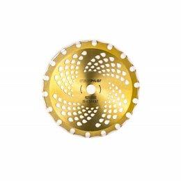 Ножи и насадки для газонокосилок - Двусторонний твердосплавный диск для триммера PIT МХ25503602, 0