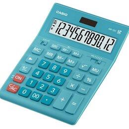 Калькуляторы - CASIO Калькулятор CASIO GR-12C-LB, 12-разрядный, 0