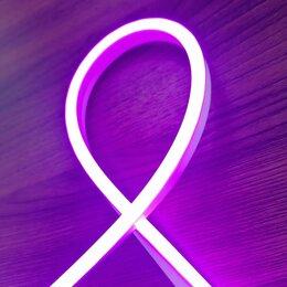 Светодиодные ленты - Светодиодный гибкий неон 12 Вольт, 6*12 мм, Премиум класс, кратность реза 25 мм, 0