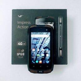 Мобильные телефоны - Смартфон Vertex Impress Action Black чёрный, 0