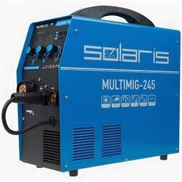Сварочные аппараты - Сварочный полуавтомат solaris multimig-245, 0