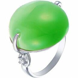 Комплекты - Element47 кольцо серебро вес 7,95 вставка фианит, кошачий глаз арт. 743866, 0