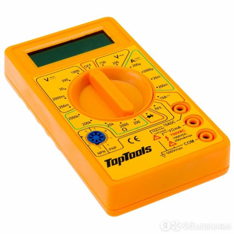 Цифровой мультиметр Top Tools 94W100 по цене 643₽ - Измерительные инструменты и приборы, фото 0