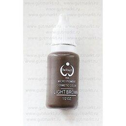 Принадлежности и оборудование для татуажа - Пигмент краска Biotouch Биотач для татуажа Light Brown Светлый Коричневый, 0