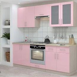 Мебель для кухни - Кухонный гарнитур Гамма-3. Розовый глянец., 0