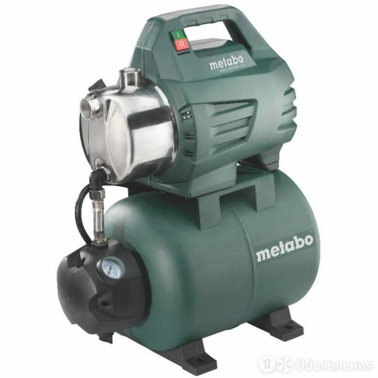 Насосная станция Metabo HWW 3500/25 Inox 600969000 по цене 11199₽ - Насосы и комплектующие, фото 0