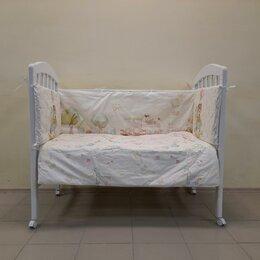 Постельное белье - Комплект в кроватку Лошадка из 6 предметов. /Новый/., 0