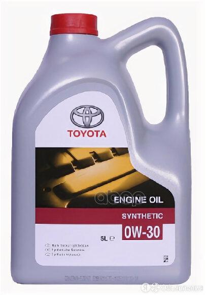 TOYOTA Масло Моторное 0w30 Toyota 5л Синтетика по цене 5050₽ - Масла, технические жидкости и химия, фото 0