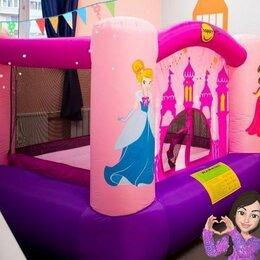 Надувные комплексы и батуты - Надувной батут  happy hop веселая принцесса, 0