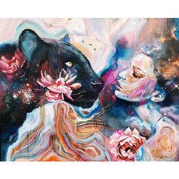 Новогодний декор и аксессуары - Девушка с пантерой Артикул : GS 1398, 0