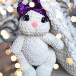 Мягкие игрушки - Плюшевая игрушка заяц, 0