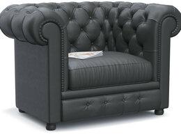 Кресла - Кресло Честер (Честерфилд) Black, 0