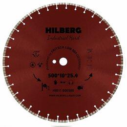 Диски отрезные - 500 алмазный отрезной турбо-сегментный диск Hilberg Industrial Hard Laser HI811, 0