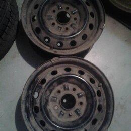 Шины, диски и комплектующие - 14''x6,0JJ 5x114,3 DIA (ЦО) 63мм Штампы Чёрные 2 шт. , 0