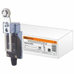 Концевые, позиционные и шарнирные выключатели - Выключатели концевые TDM Выключатель концевой ВККН-2145М11-У2 регулируемый ры..., 0