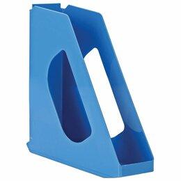 Расходные материалы - Лоток вертикальный для бумаг ESSELTE «VIVIDA», ширина 72 мм, синий, 623937, 0