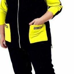 Спортивные костюмы - Женский спортивный костюм тёплый большого размера р-ры 54-66, 0