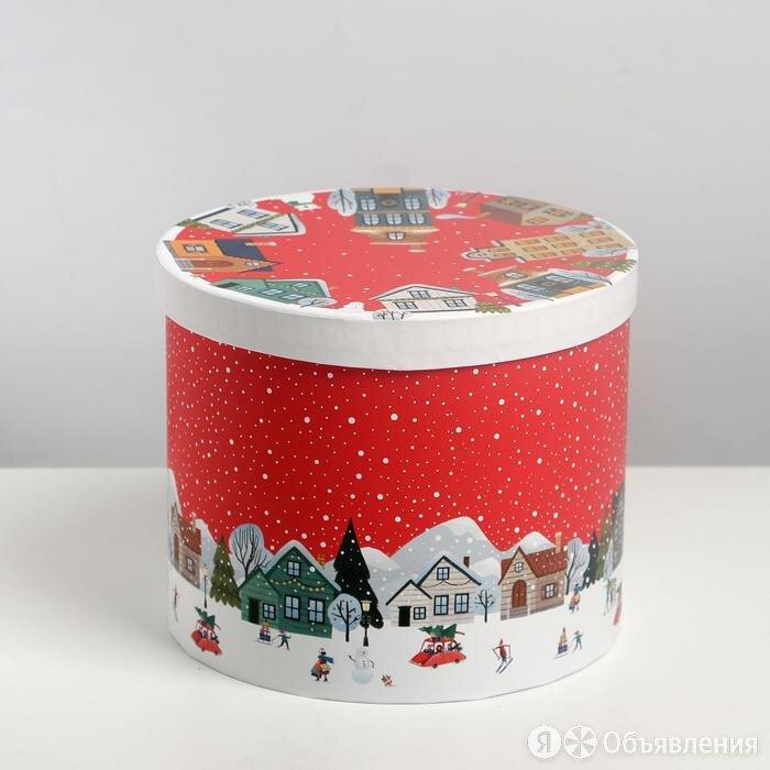 Коробка подарочная «Новогодние истории», 15 × 18 см по цене 614₽ - Подарочные наборы, фото 0