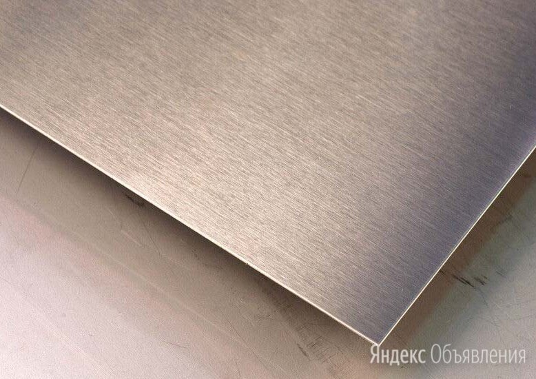 Лист нержавеющий 36х1250х2500 мм AISI 430 по цене 98563₽ - Металлопрокат, фото 0