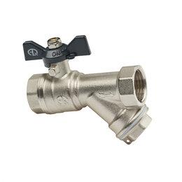 Краны для воды - AQUALINK Кран со встроенным фильтром Aqualink Ду 15, 0