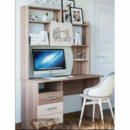 Компьютерные и письменные столы - Город стол компьютерный ясень шимо темный/светлый св мебель, 0