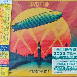 Музыкальные CD и аудиокассеты - Led Zeppelin Celebration Day Japan Deluxe 2CD DVD Blu-ray, 0