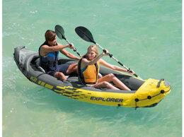 Аксессуары для плавания - Надувные байдарки надувные каяки Intex Original, 0