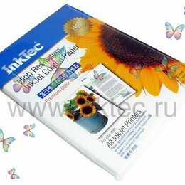 Бумага и пленка - Фотобумага InkTec, 0