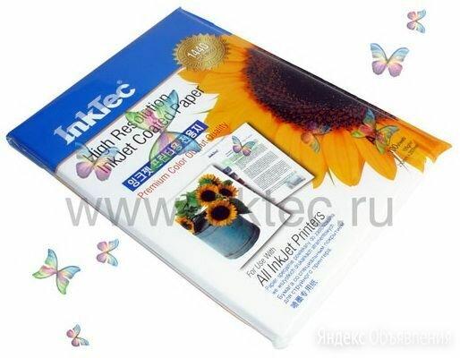 Фотобумага InkTec по цене 250₽ - Бумага и пленка, фото 0