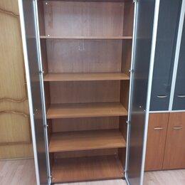 Шкафы для документов - Шкаф с полками закрытый ,класса эконом,900.500.2200, 0