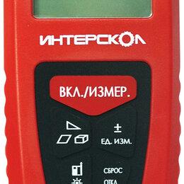 Измерительные инструменты и приборы - Лазерный дальномер интерскол лд-40, 0